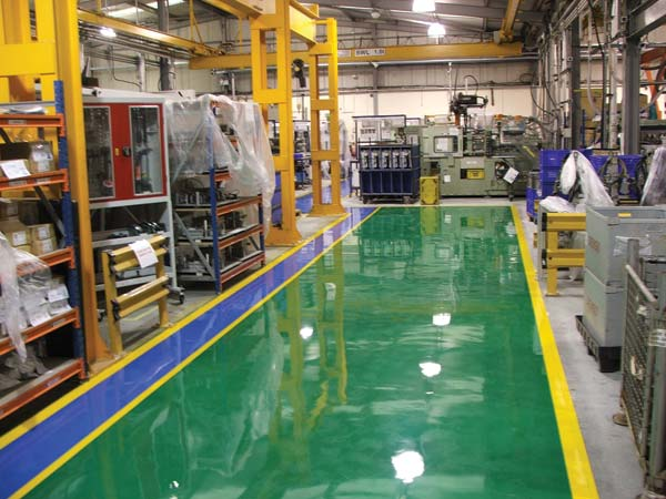 Gallery Epoxy Flooring Commercial Painting