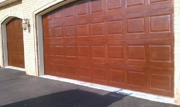 Gallery epoxy flooring commercial painting for Wood garage doors michigan